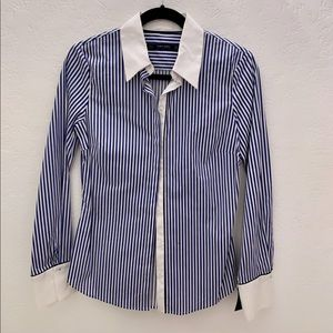 Zara fitted button-up